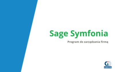 Sage Symfonia – program do zarządzania firmą