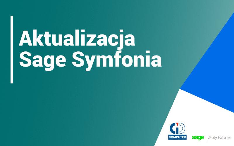 Nowa aktualizacja Sage Symfonia ERP