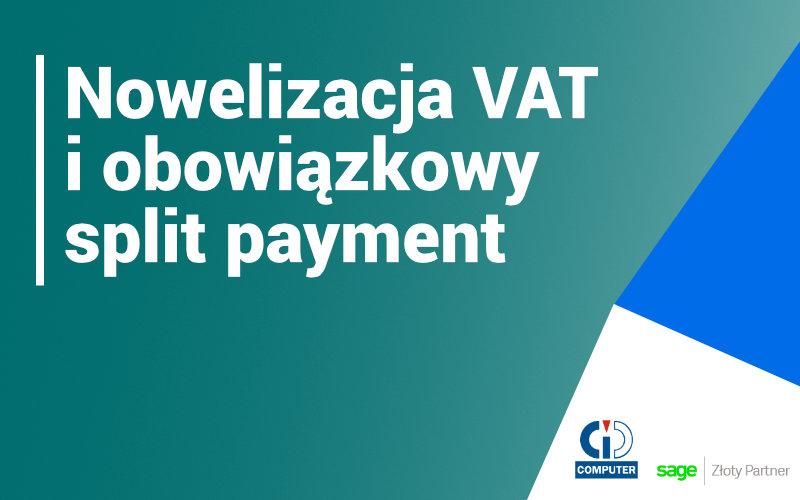 Obowiązkowy split payment od września 2019
